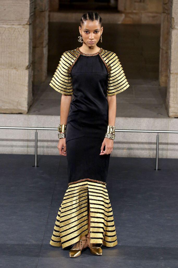 chanel metiers d'art ancient egypt prefall 2019 new york met