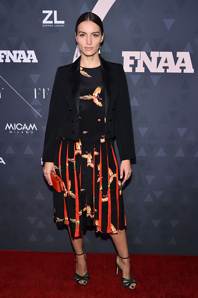 Chloe Gosselin32nd Annual Footwear News Achievement Awards, Arrivals, New York, USA - 04 Dec 2018