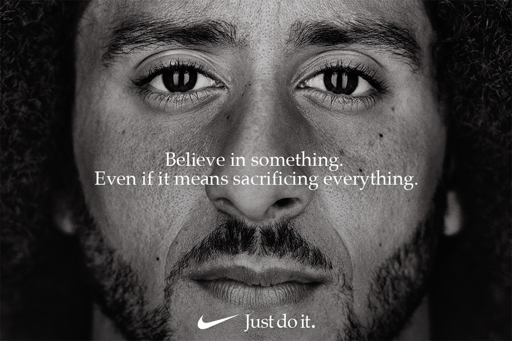 Colin Kaepernick, nike ad, just do it