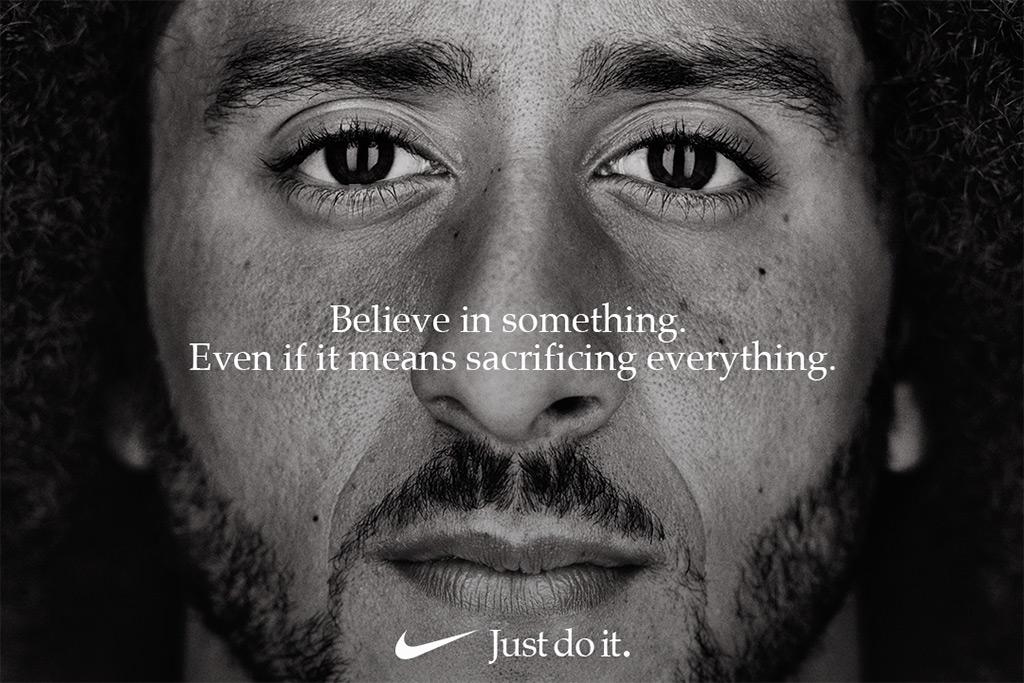 Colin Kaepernick, nike ad, just do it