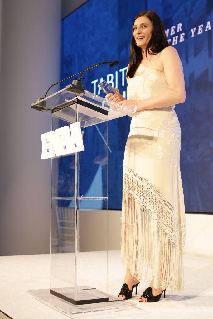 Tabitha Simmons winsDesigner of the Year, fnaa 2018