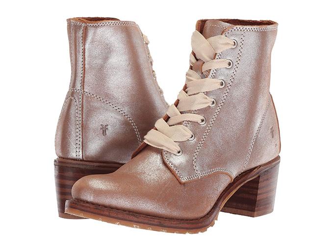 FryeSabrina 6G Lace Up Boot