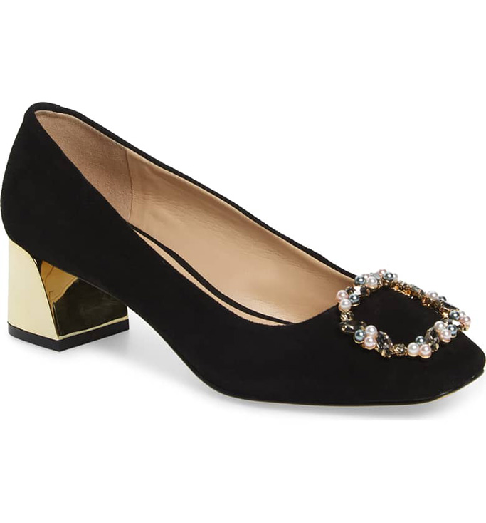 Karl Lagerfeld Paris Hadley Embellished Pump