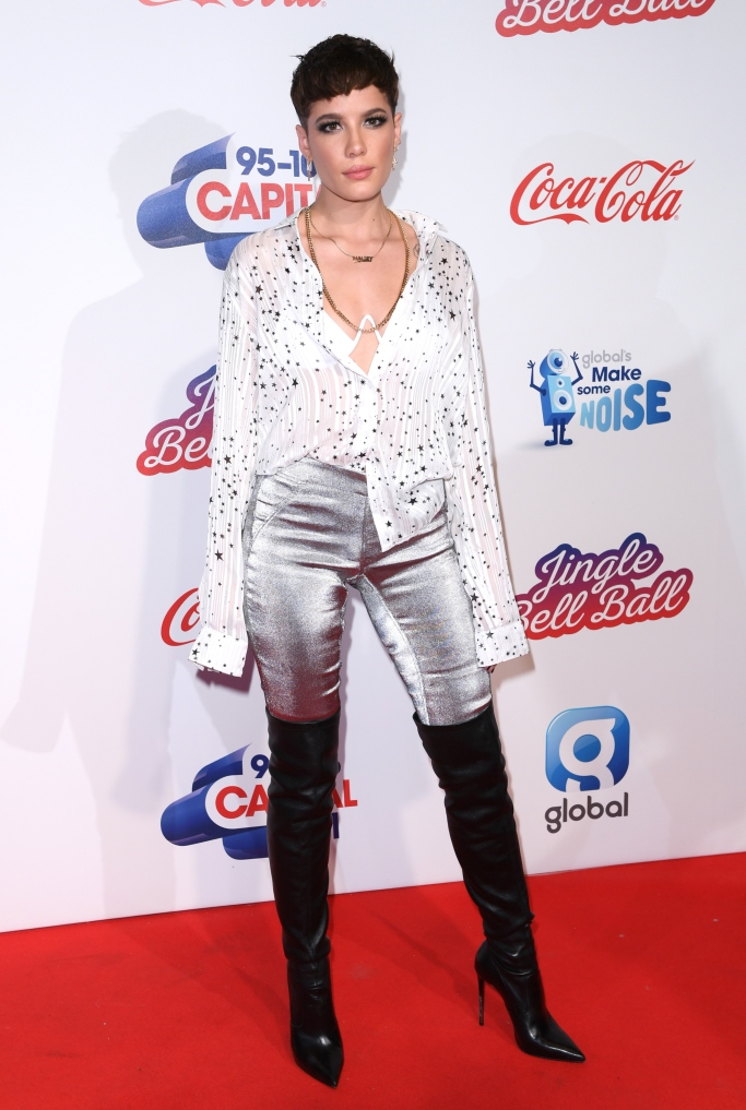 halsey jingle bell ball