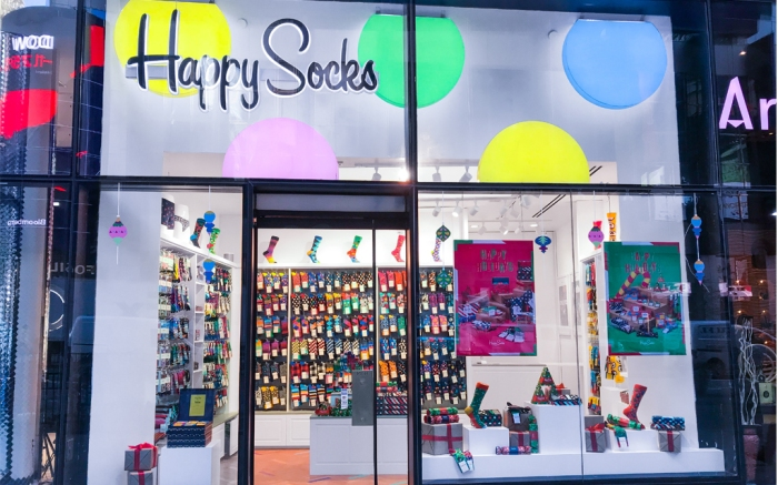 Happy Socks Times Square Store