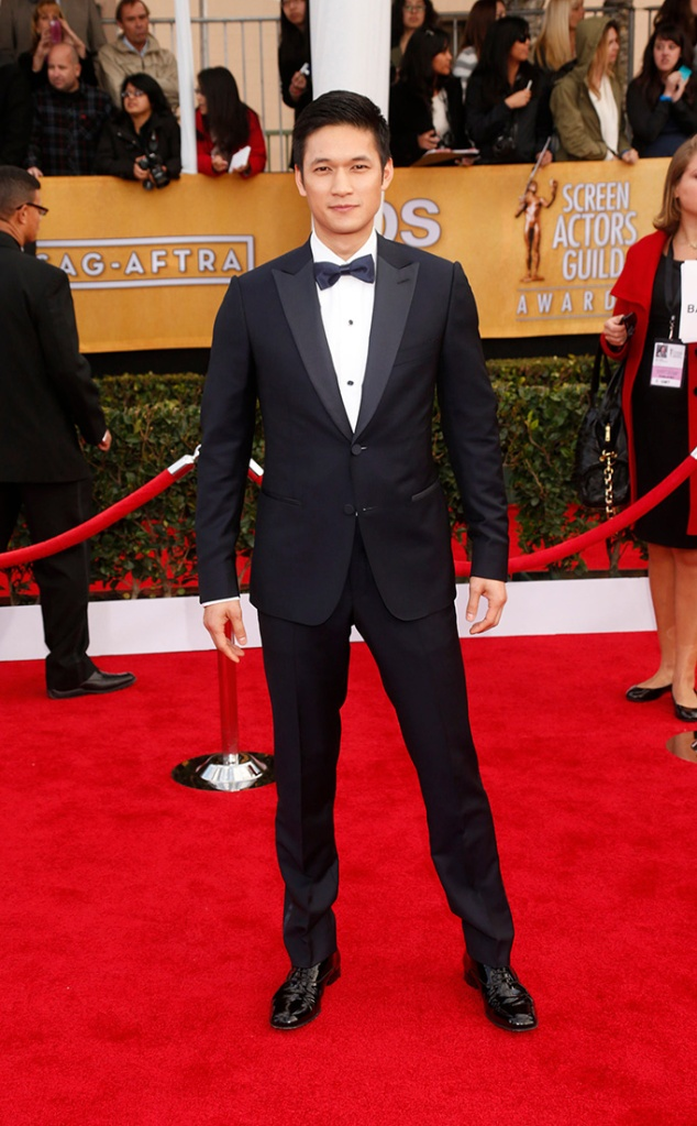 Harry Shum Jr. arrives at the 19th Annual Screen Actors Guild Awards at the Shrine Auditorium in Los Angeles onSAG Awards Arrivals, Los Angeles, USA - 27 Jan 2013