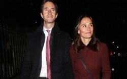 Pippa Middleton and James Matthews Attend