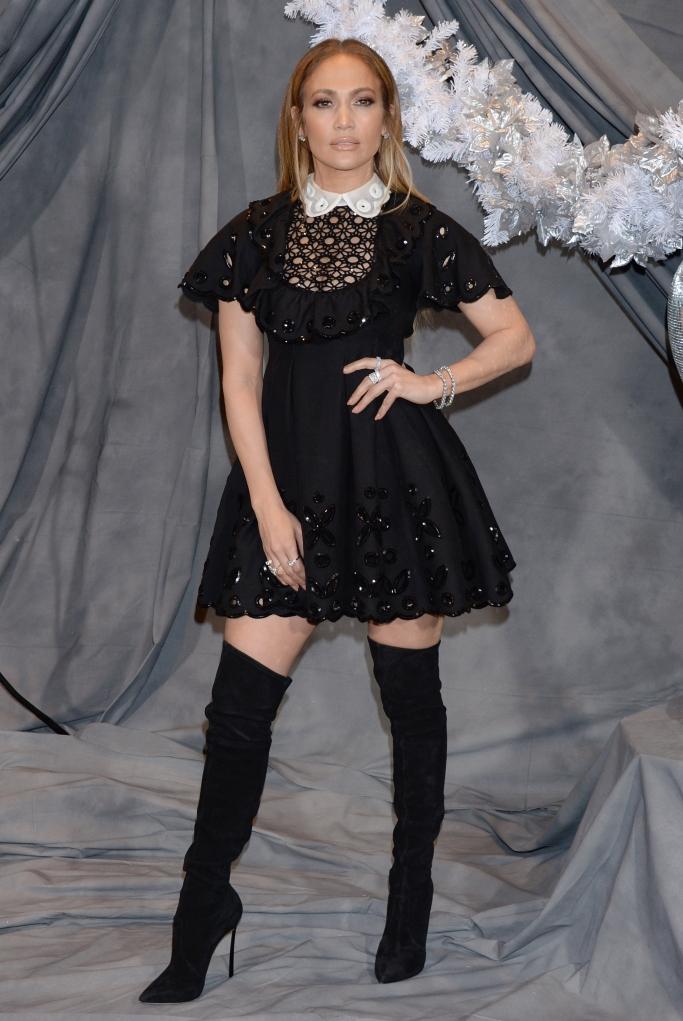 Jennifer Lopez, thigh-high boots