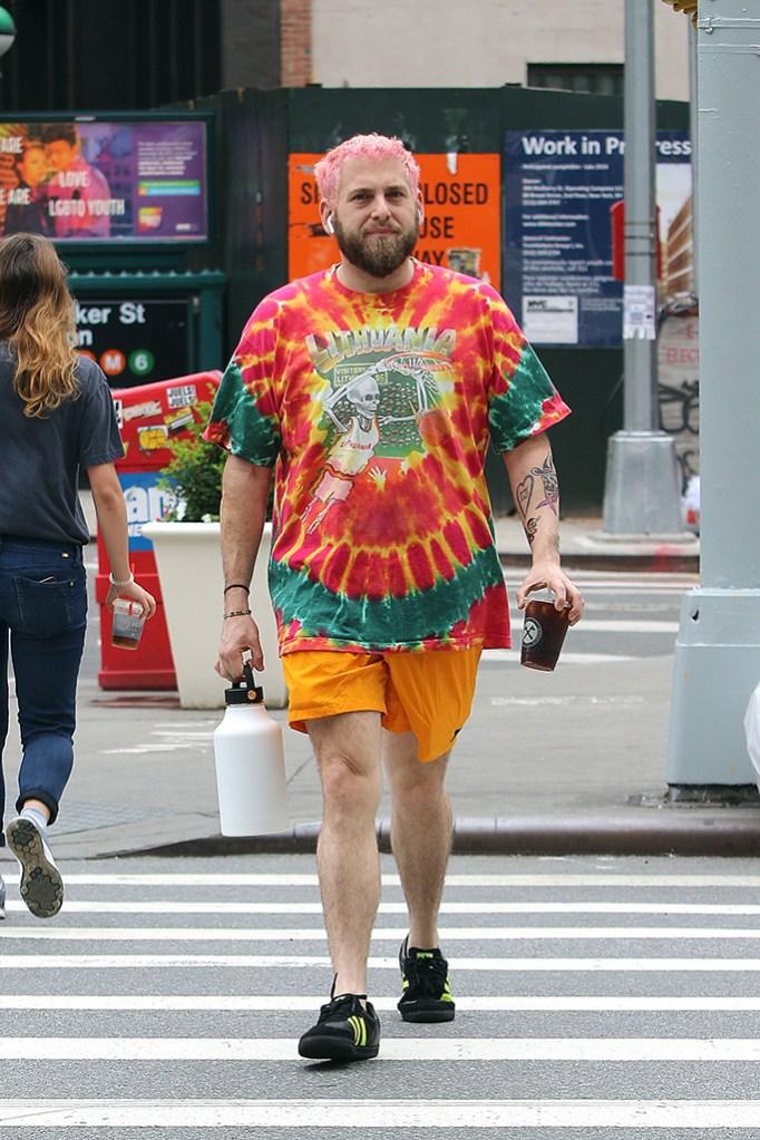 Jonah HillJonah Hill out and about, New York, USA - 22 Jun 2018