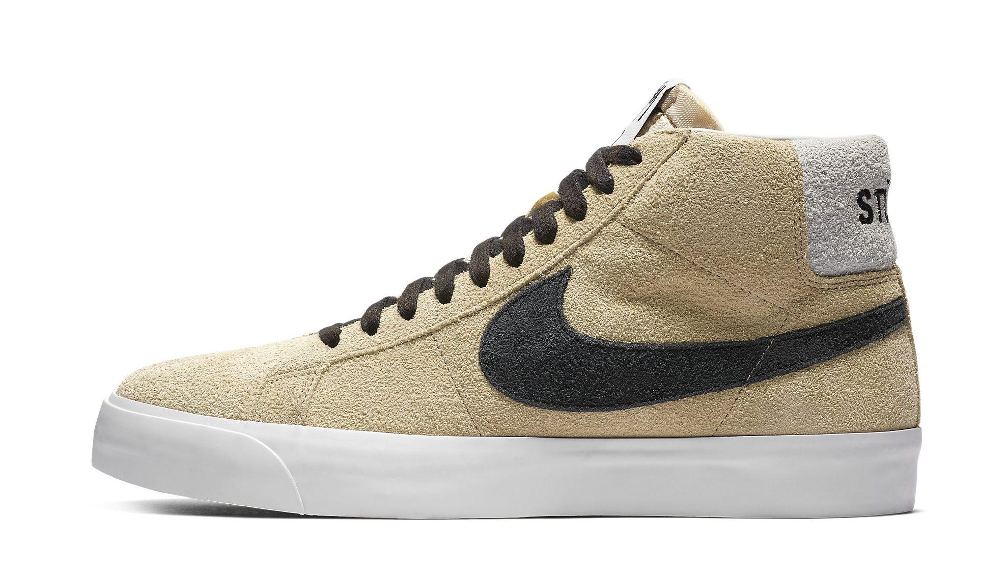 x Nike SB Blazer Sneakers