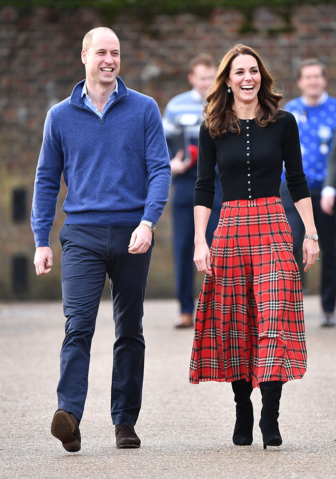 Prince William and Catherine Duchess of CambridgePrince William and Catherine Duchess of Cambridge host lunch for military personnel, London, UK - 04 Dec 2018Their Royal Highnesses will host a Christmas party in London for families and children of deployed personnel from RAF Coningsby and RAF Marham serving in Cyprus. The Duke is Honorary Air Commandant of RAF Coningsby, Lincolnshire, which is home to Typhoon Sqns, who currently deploy to Cyprus in support of Op SHADER. RAF Marham have 31 Squadron, who are also contributing to OP SHADER. The event is being supported by The Royal British Legion in recognition of the unique contribution and sacrifices Serving personnel and their families make year round, and especially when they are separated during the festive period. The support of their families and loved ones is vital not only when personnel are serving, but through transition, recovery and civilian life after service, and The Royal British Legion ensures that those family members are supported in return.