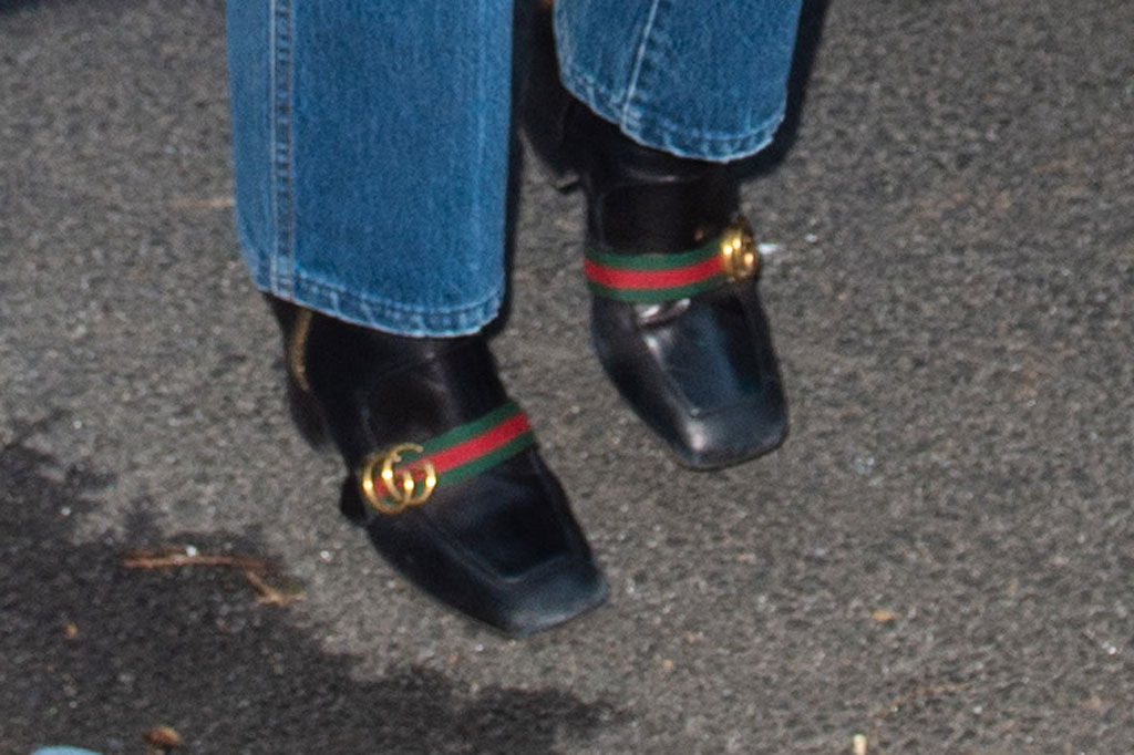katie holmes, boots, gucci, style