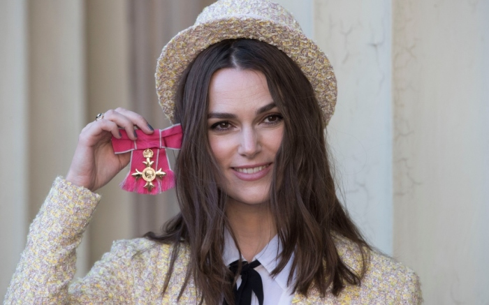 keira knightley, Order of the British Empire