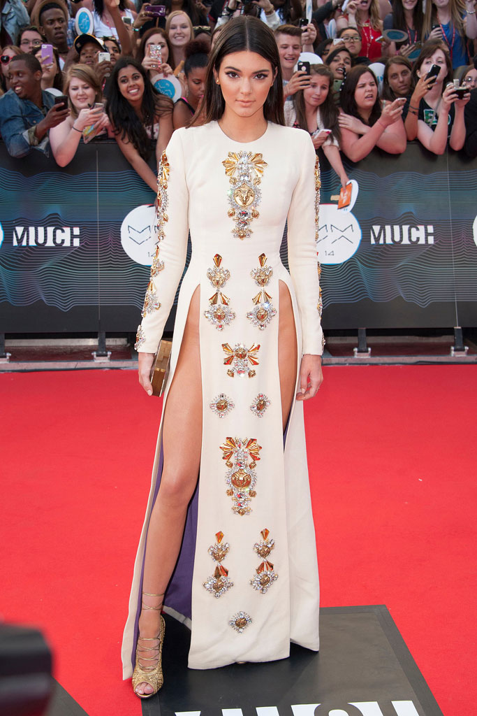 kendall jenner, fausto puglisi, muchmusic awards, red carpet