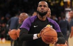 lebron james, staples center, basketball