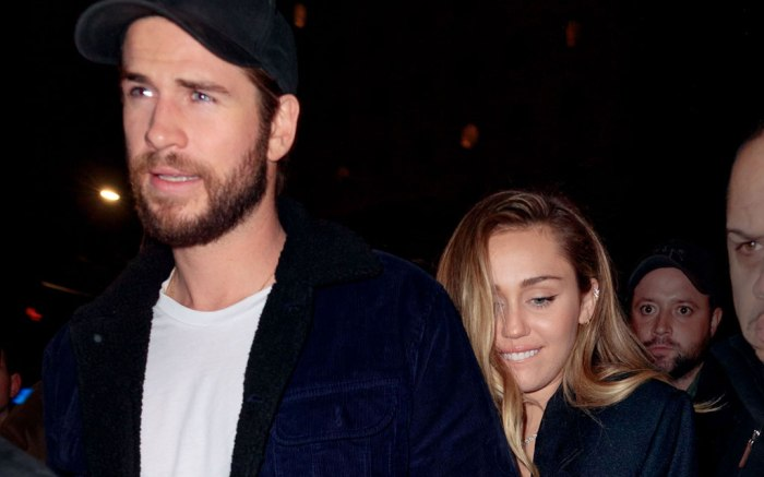 Liam Hemsworth, miley cyrus, snl, afterparty, saturday night live, new york