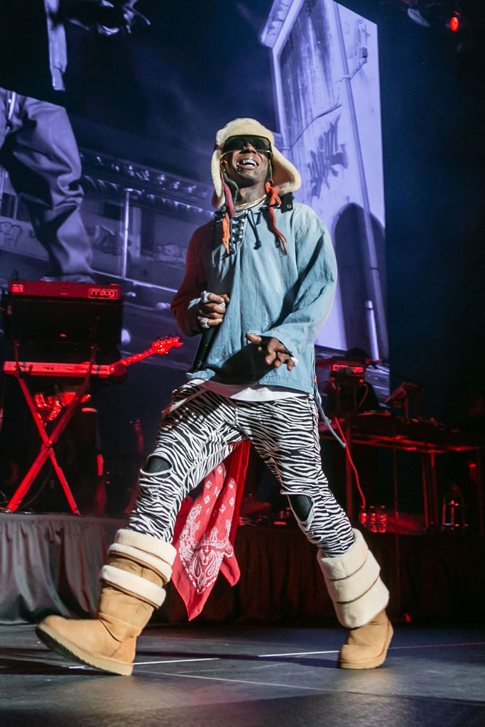 lil wayne, y/project x ugg, boots, performance, detroit