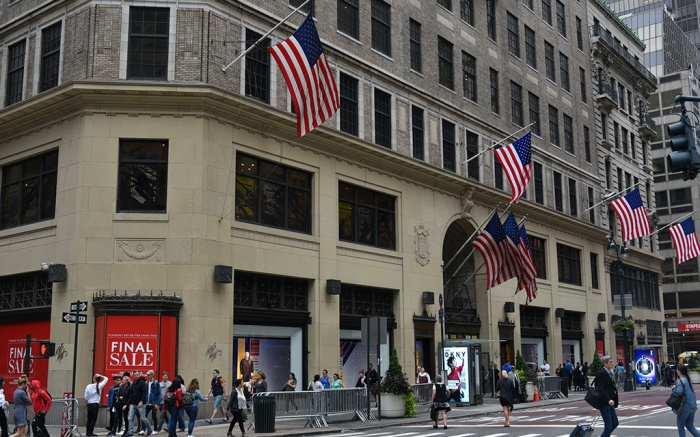 Lord & Taylor's iconic New York City flagship store will close its doors next year, after occupying the Fifth Avenue building for 104 years.Lord and Taylor flagship store set to close, New York, USA - 08 Oct 2018
