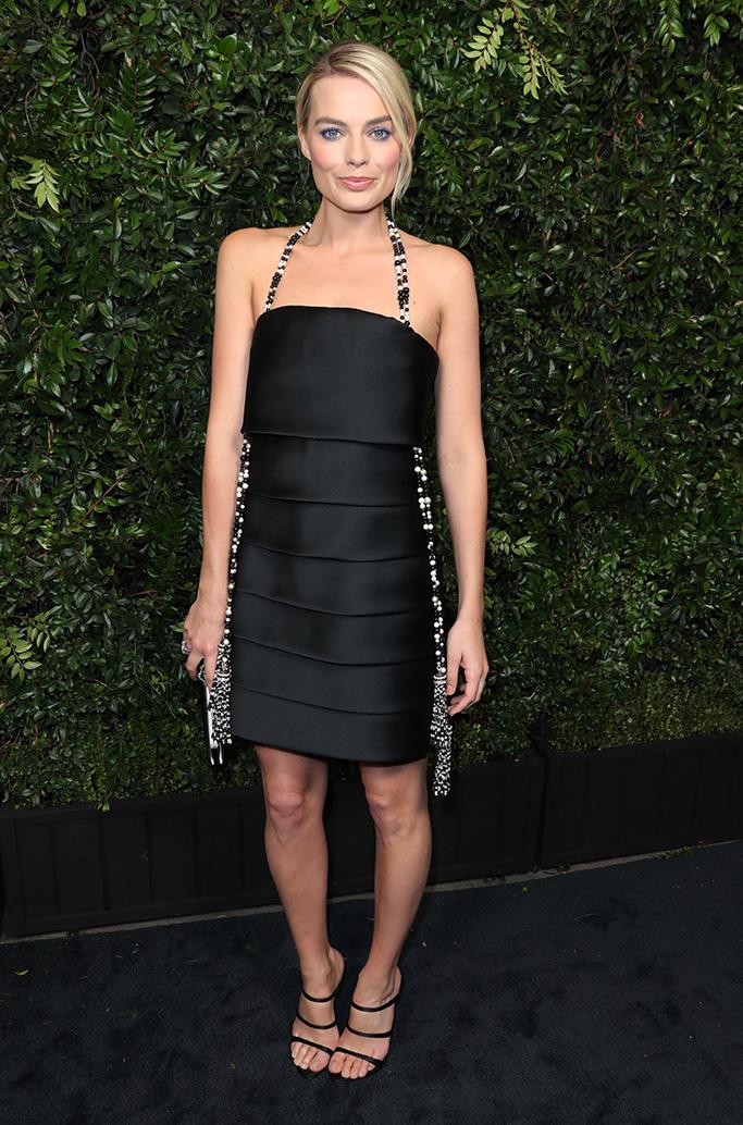 Margot RobbieChanel and Charles Finch Pre-Oscar dinner, Arrivals, Los Angeles, USA - 03 Mar 2018