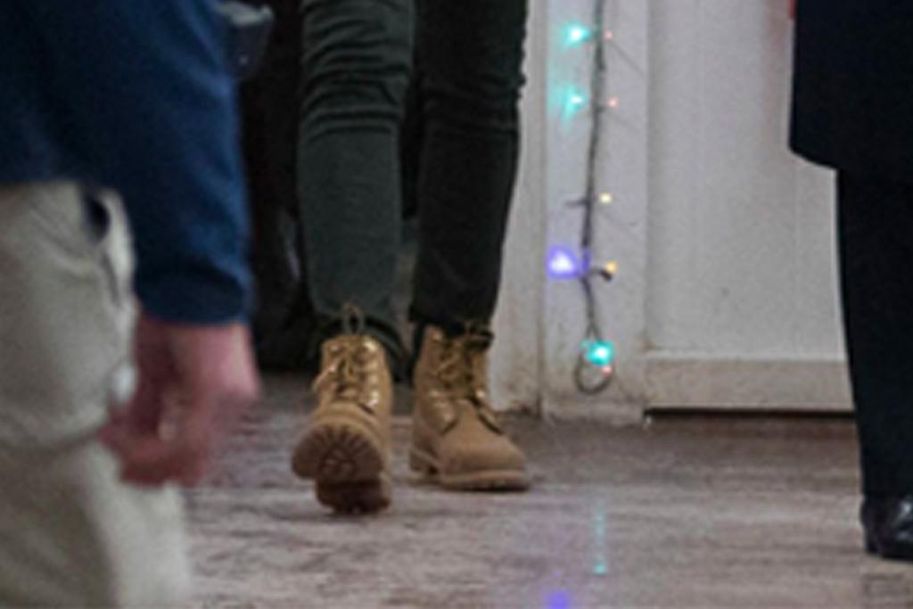 melania trump, combat boots