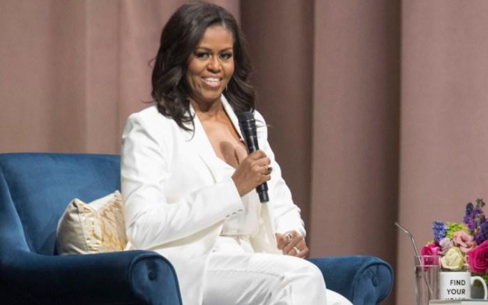 michelle obama white suit