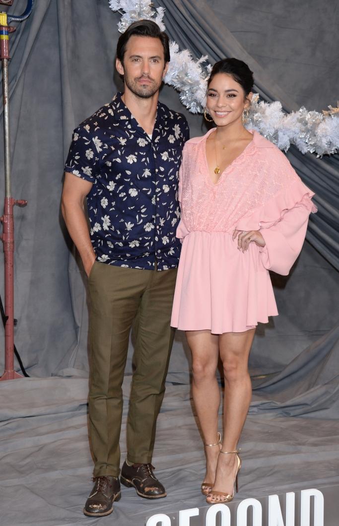 Milo Ventimiglia and Vanessa Hudgens