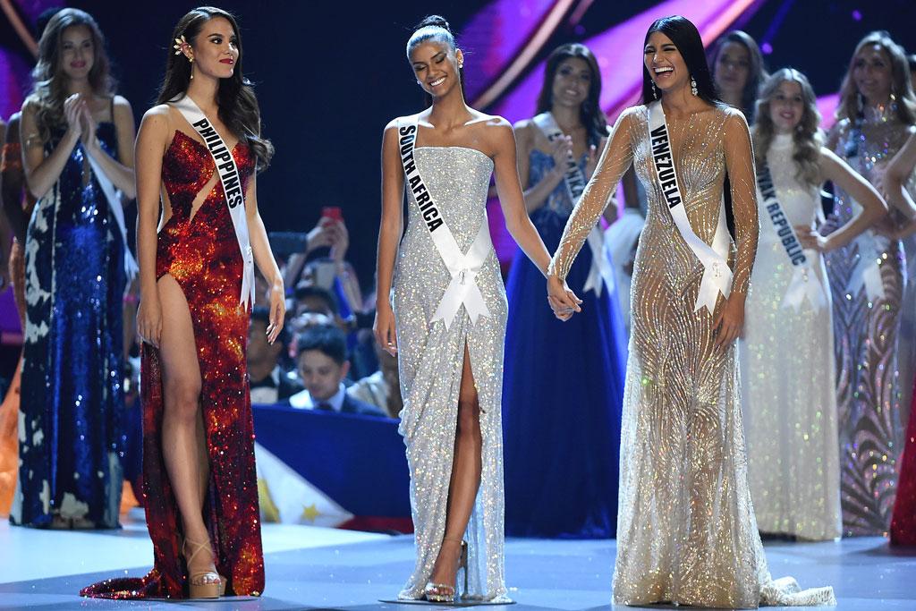 Miss Universe, Catriona Gray, Tamaryn Green, Sthefany Gutierrez