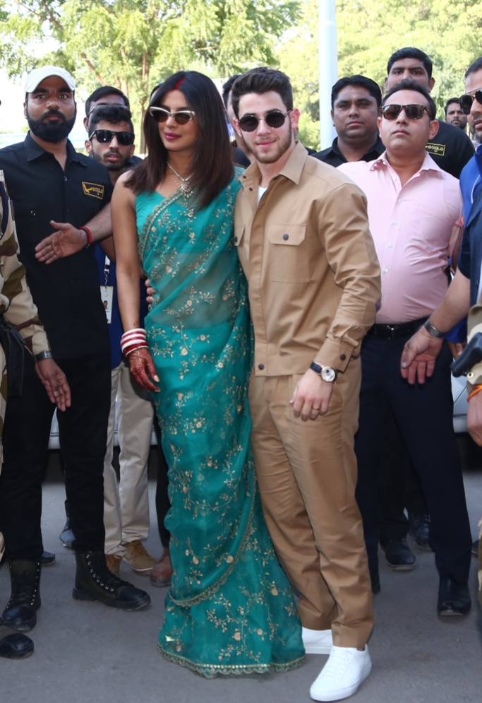 Priyanka Chopra and Nick Jonas wedding weekend