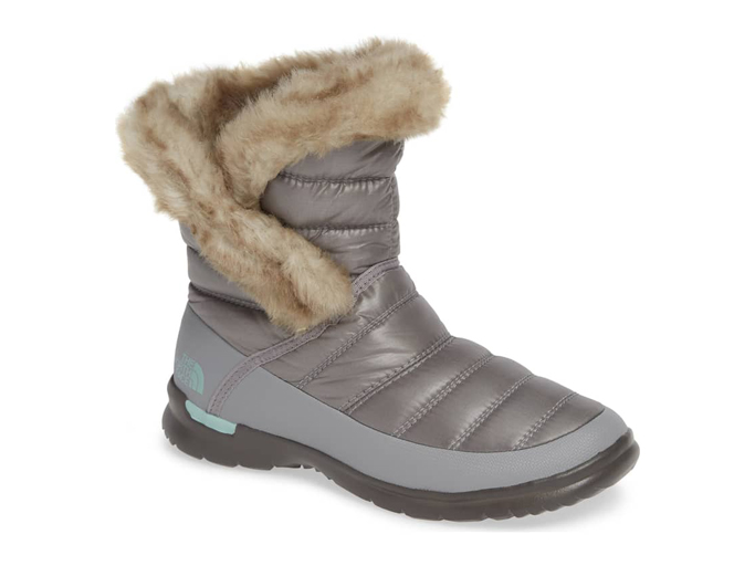 North Face Microbaffle Waterproof ThermoBall Insulated Winter Boot