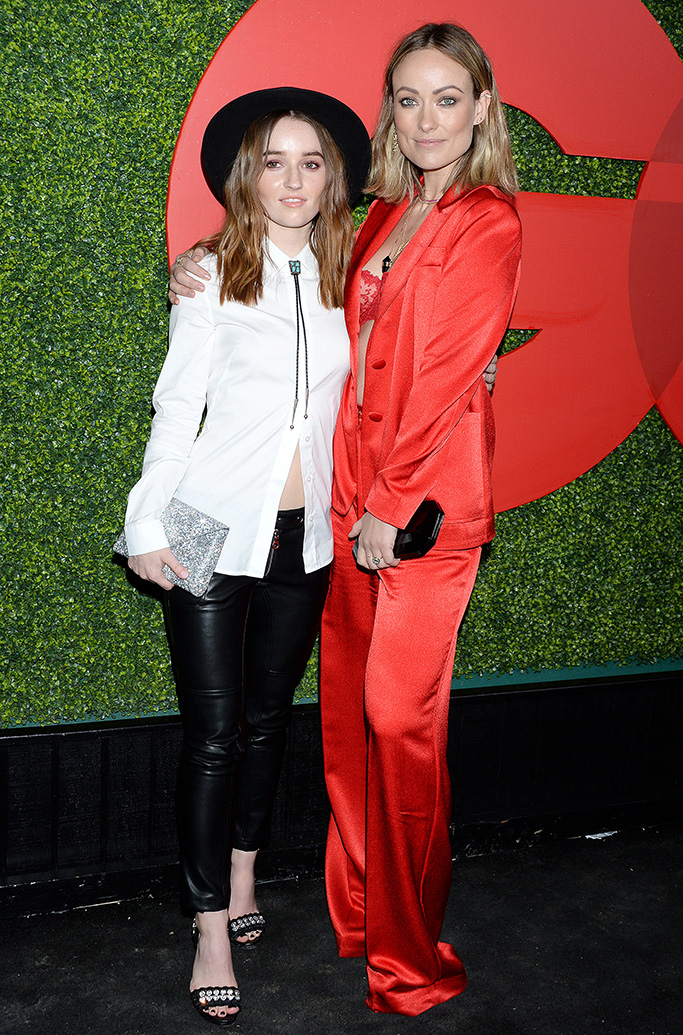 Olivia Wilde, Kaitlyn Dever, GQ Men of the Year party, Arrivals, Los Angeles