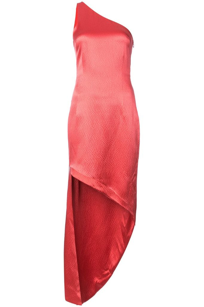 pantone 2019 color of the year living coral haney dress farfetch