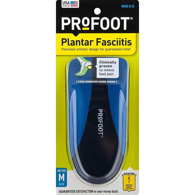 Profoot Plantar Fasciitis Men's Heel Insert