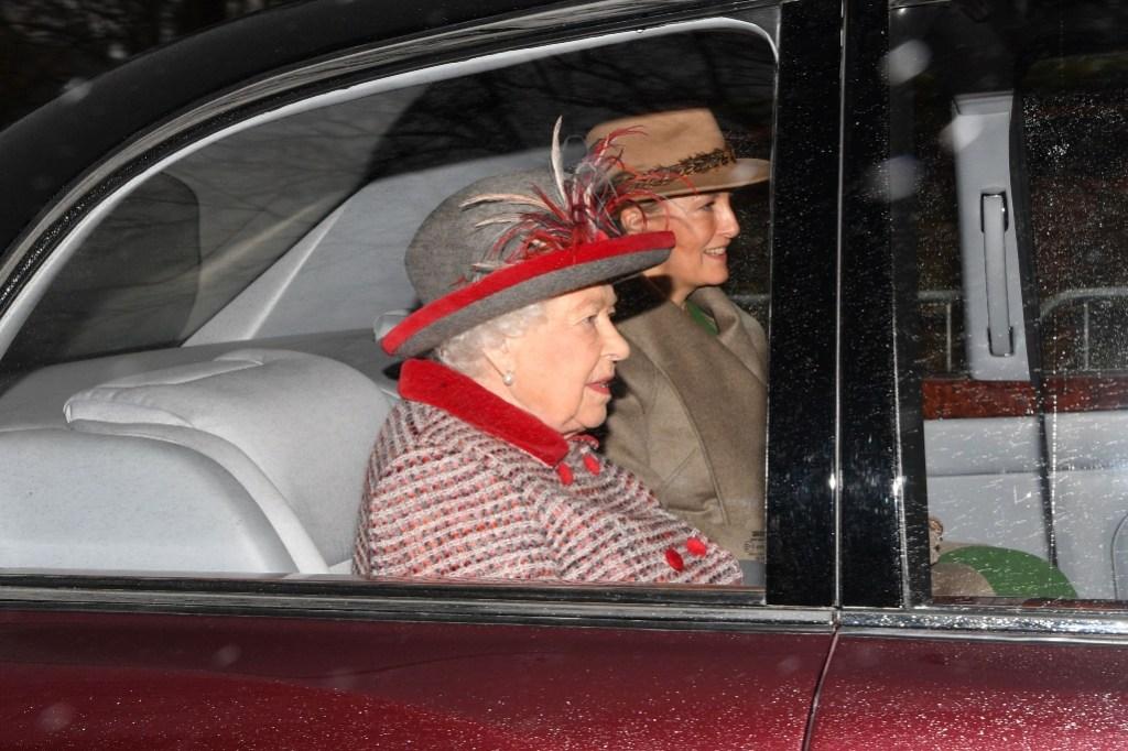 queen elizabeth, sohpie countess of wessex,