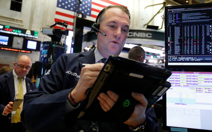 Trader Jonathan Corpina works on the floor of the New York Stock Exchange. The U.S. stock market opens at 9:30 a.m. EST on Thursday, Dec. 6Financial Markets Wall Street, New York, USA - 28 Nov 2018