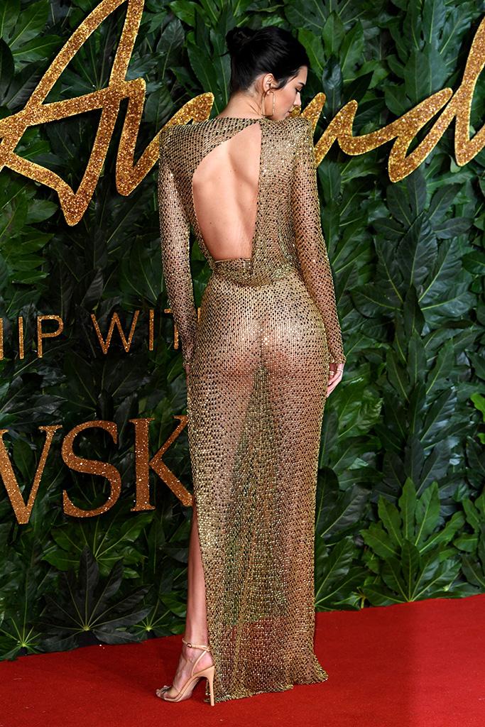 Kendall Jenner à la soirée British Fashion Awards 2018 au