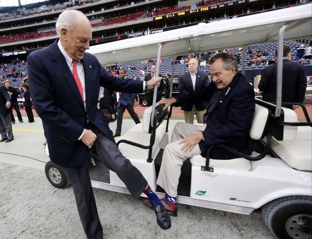 bob mcnair, George H. W. Bush
