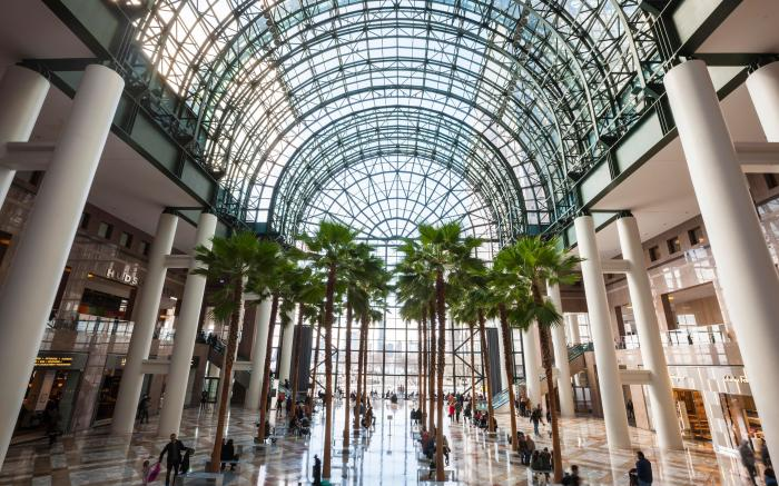 Brookfield Place Shopping Mall, Ground Zero, World Trade Center, Manhattan, New York City, New York, United States of AmericaVARIOUS