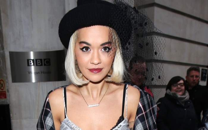 Rita Ora out and about, London, UK – 14 Dec 2018