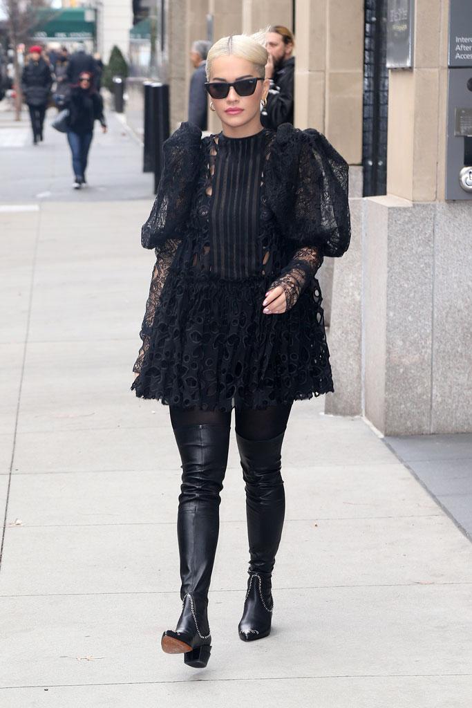 Rita Ora, new york city, street style