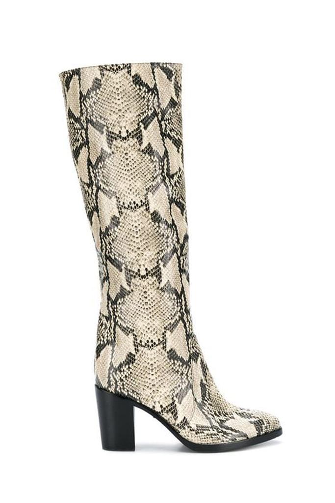 snakeskin boots, Schutz