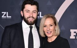 Baker Mayfield and Diane Sullivan32nd Annual