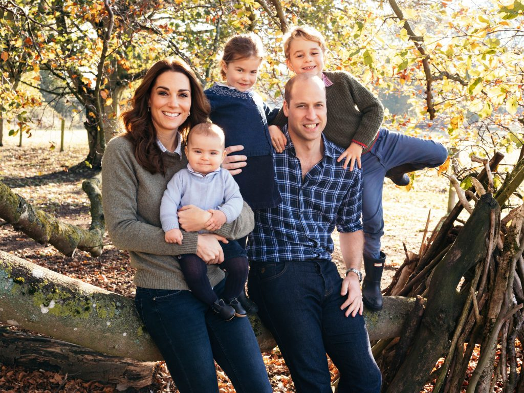 Prince William, Kate Middleton, Prince Louis, Princess Charlotte, Prince George