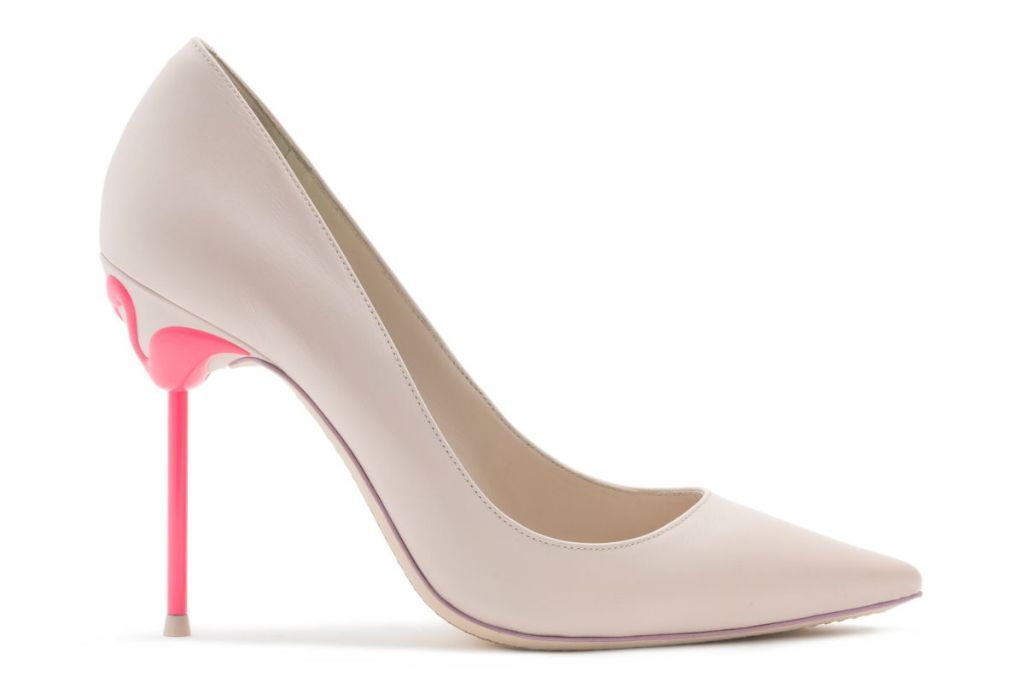 pantone 2019 color of the year living coral sophia webster flamingo pump