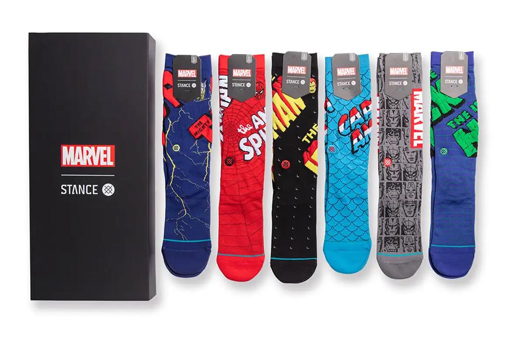 Stance Marvel 6-Pack Sock Gift Set