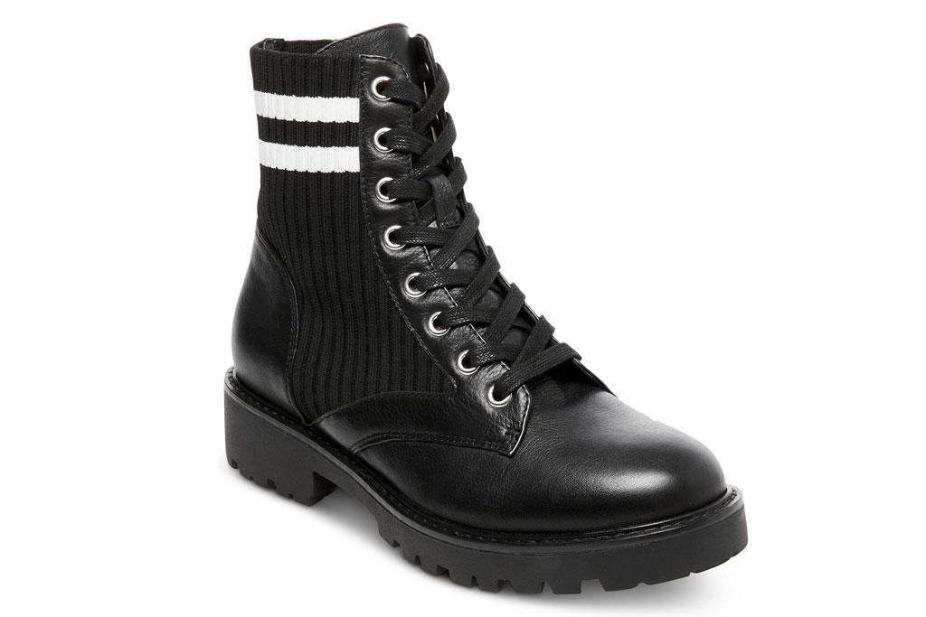 steve madden, combat boots