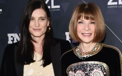 Tabitha Simmons and Anna Wintour at