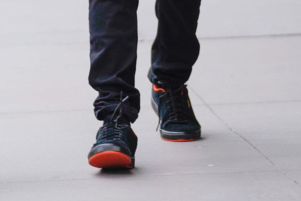the weeknd, sneakers