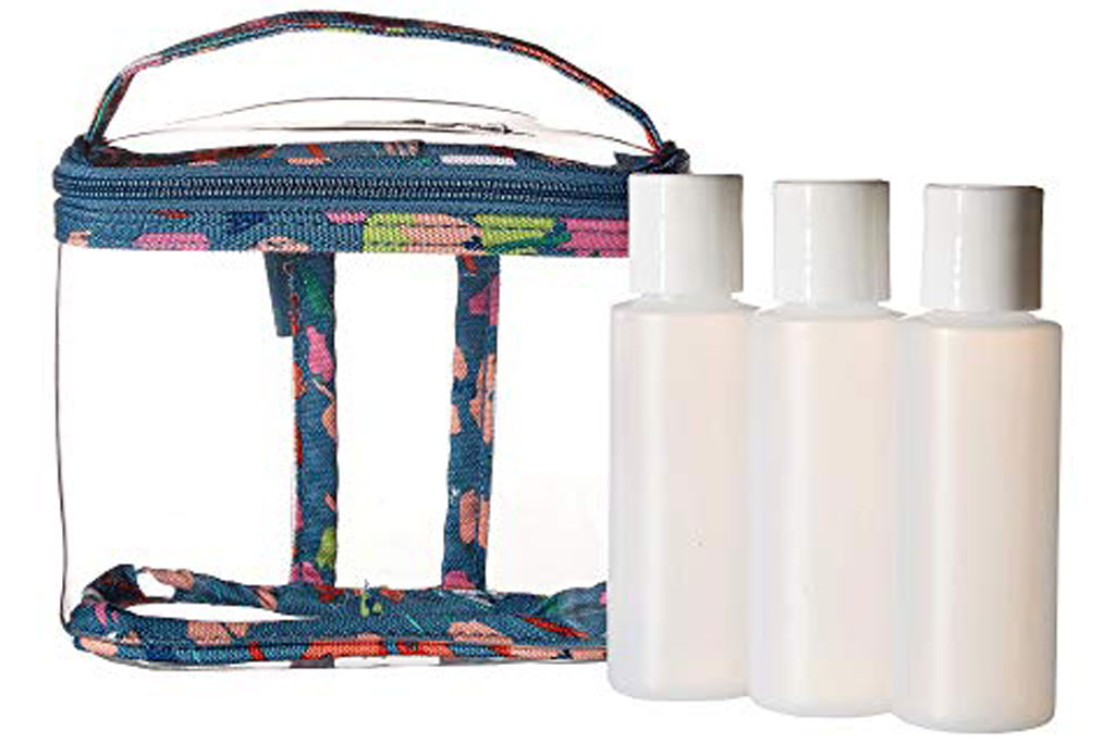 Vera Bradley Lighten Up 3-1-1 Cosmetic