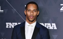 Victor Cruz , red carpet, Fnaas,