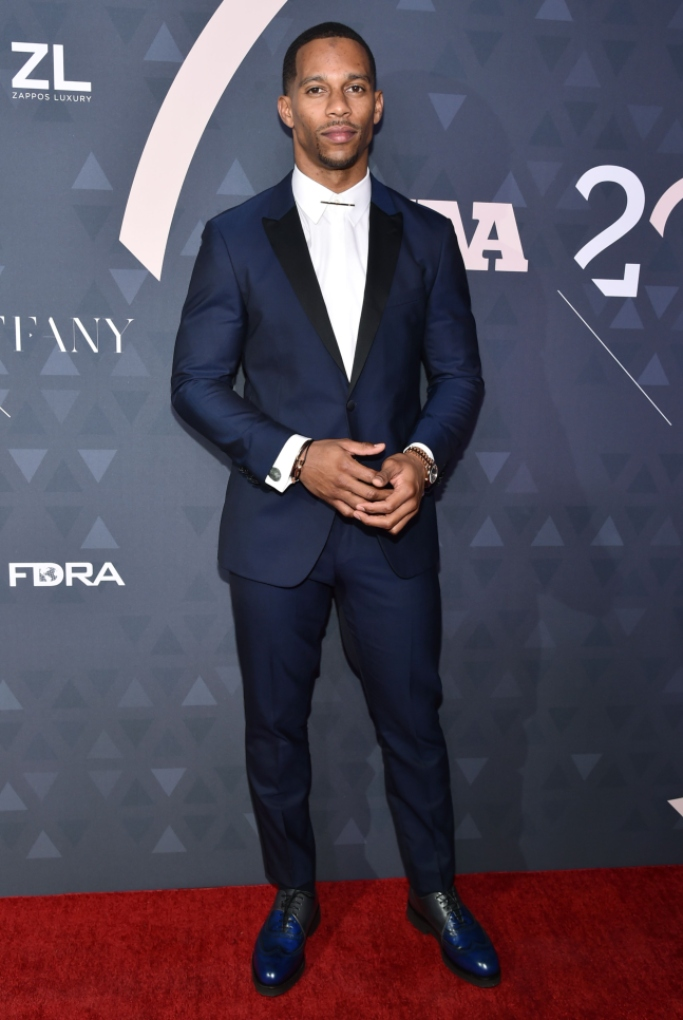 victor cruz, 32nd Annual Footwear News Achievement Awards